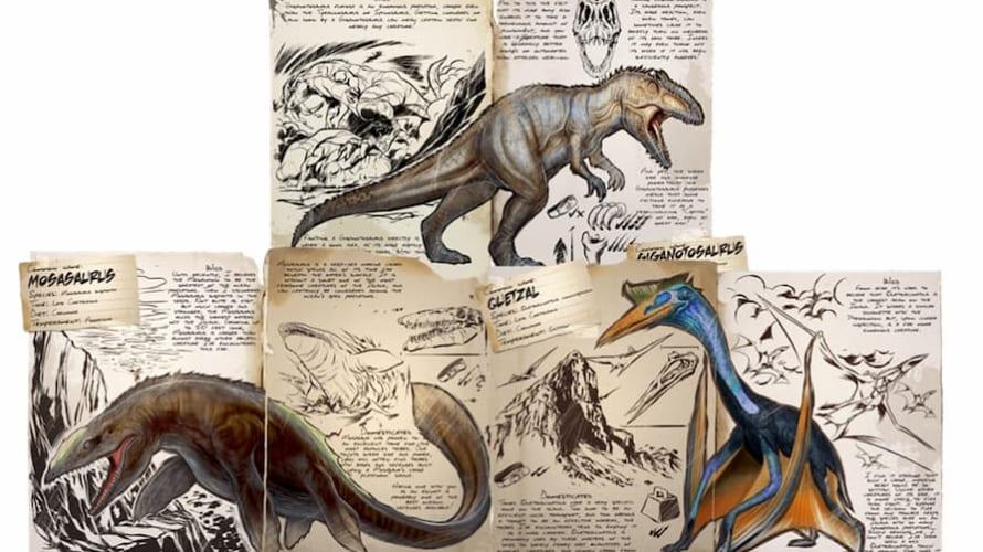 ARKモバイル 恐竜のベースダメージ一覧