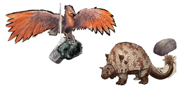 重量軽減できる運搬に適した恐竜一覧