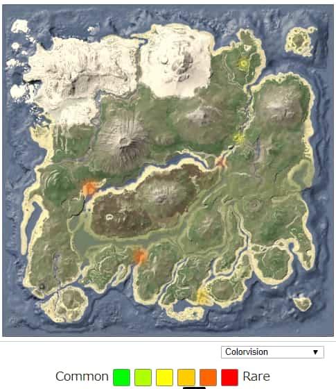 カストロイデス(Castoroides) スポーン地点 | ARK mobile