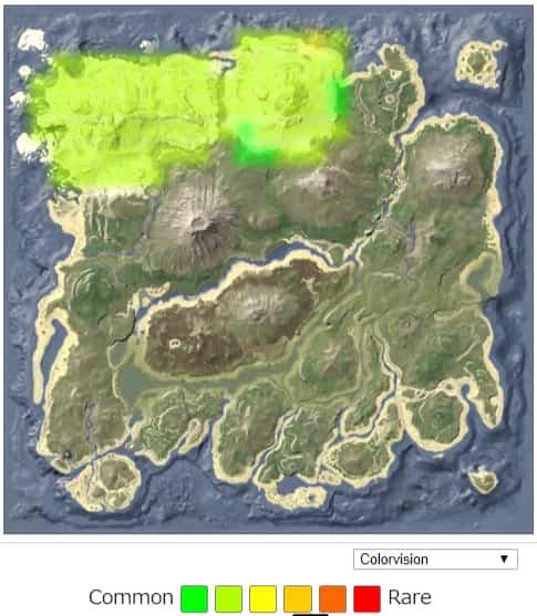 マンモス(Mammoth) スポーン地点 | ARK mobile