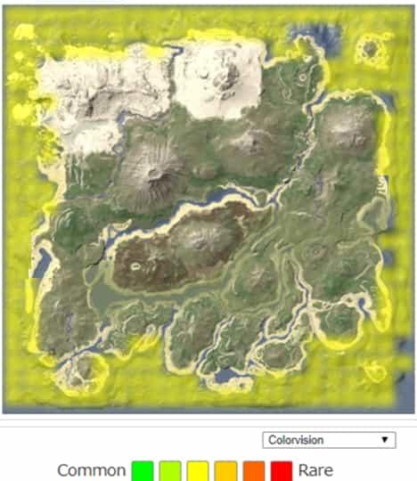 メガロドン(Megalodon) スポーン地点   ARK mobile