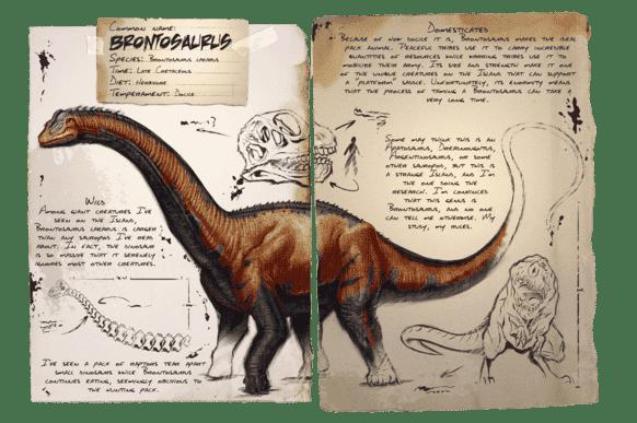 ブロントサウルス | ARK mobile
