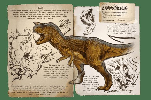 カルノタウルス | ARK mobile