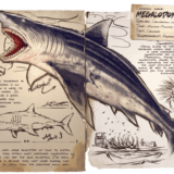 ARKモバイルのメガロドン(Megalodon) | 基本情報やキブル・テイム方法・出現場所など