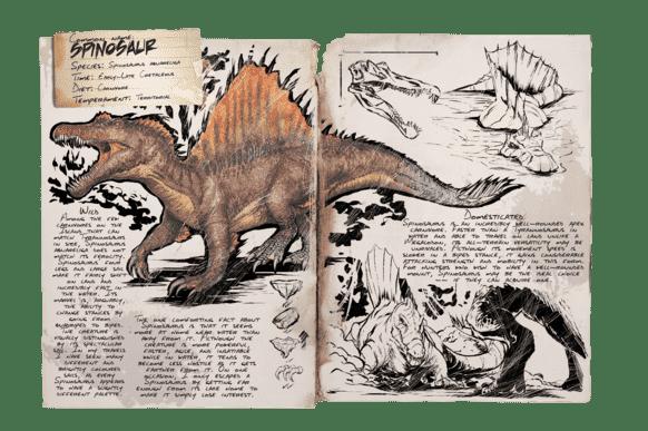 スピノサウルス | ARK mobile