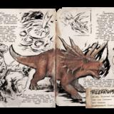 ARKモバイルのトリケラトプス(Triceratops) | 基本情報やキブル・テイム方法・出現場所など